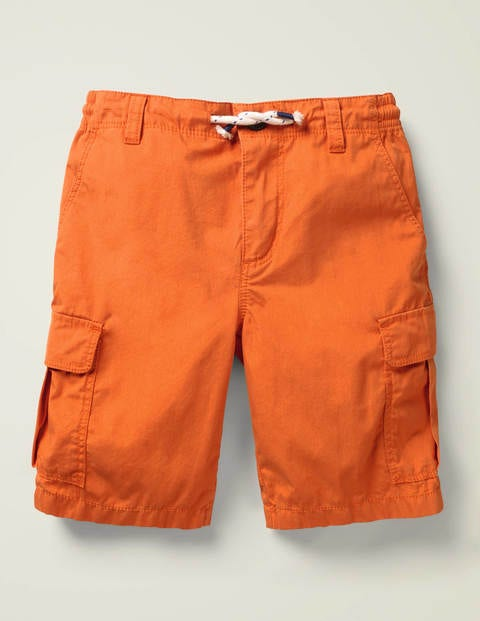 Cargo Shorts - Kumquat Orange