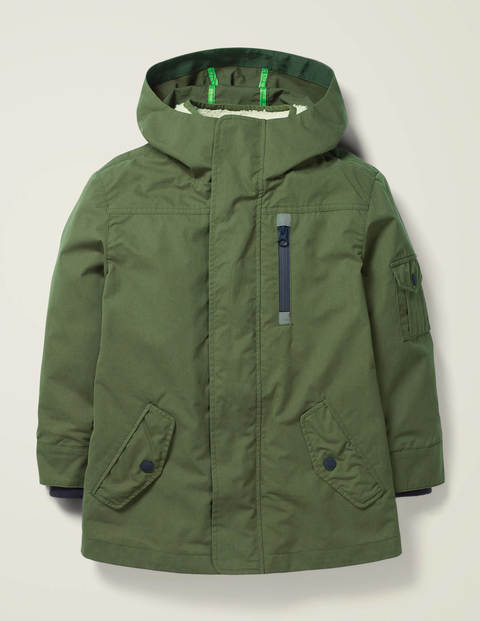 Shower Resistant Utility Coat