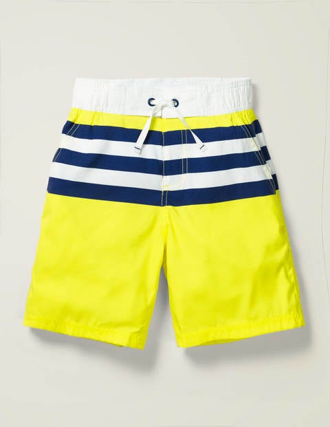 Board Shorts - Blazing Yellow