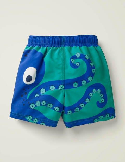 Bathers - Light Jade Green Octopus