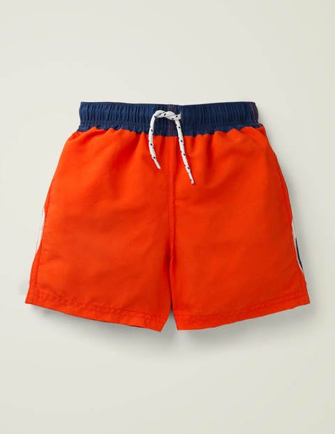 Short de bain - Tigre orange œuf de saumon