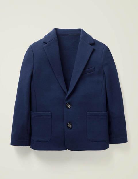 Jersey-Blazer - Schuluniform-Navy