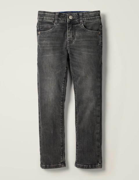 Schmal geschnittene Jeans - Grau Vintage
