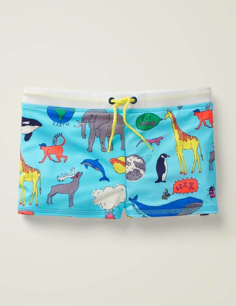 Natural World Swim Trunks - Light Blue Natural World