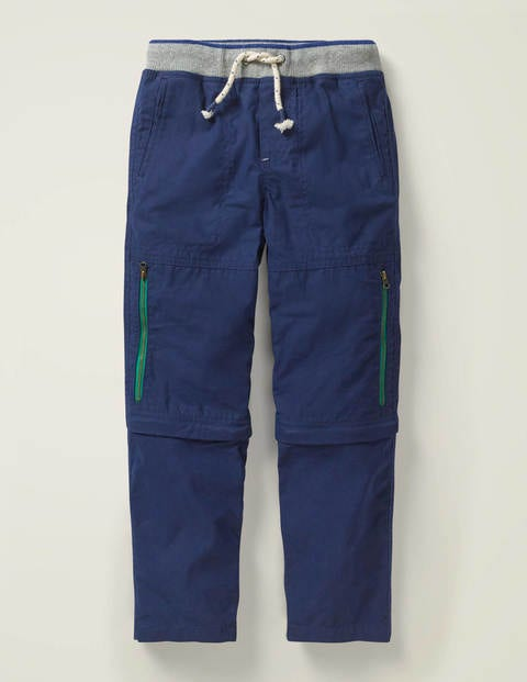 Zip-off Techno Trousers