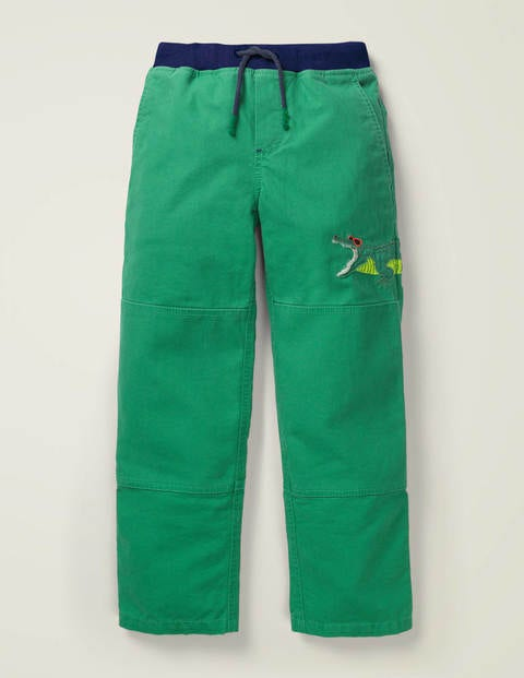 Appliqué Pull-on Trousers