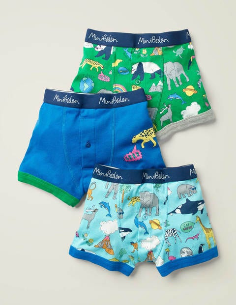 3 Pack Boxers - Natural World