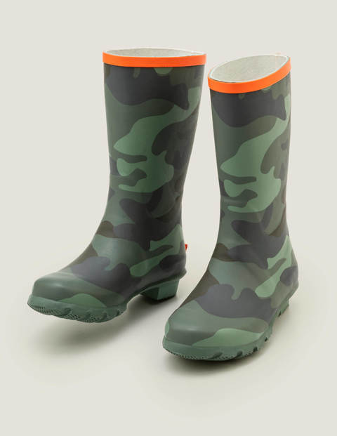Wellies - Herb Green Mini Camo