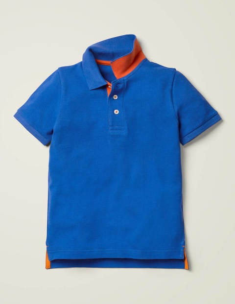 Piqué Polo Shirt - Bold Blue