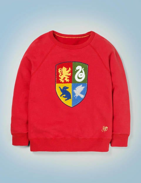 Hogwarts Crest Sweatshirt - Rockabilly Red