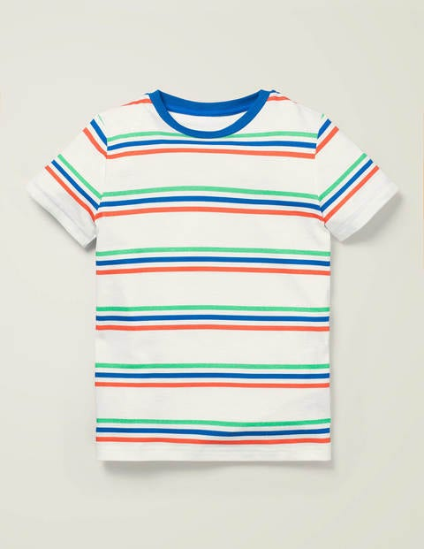 Supersoft Short Sleeve T-Shirt - Multi Stripe