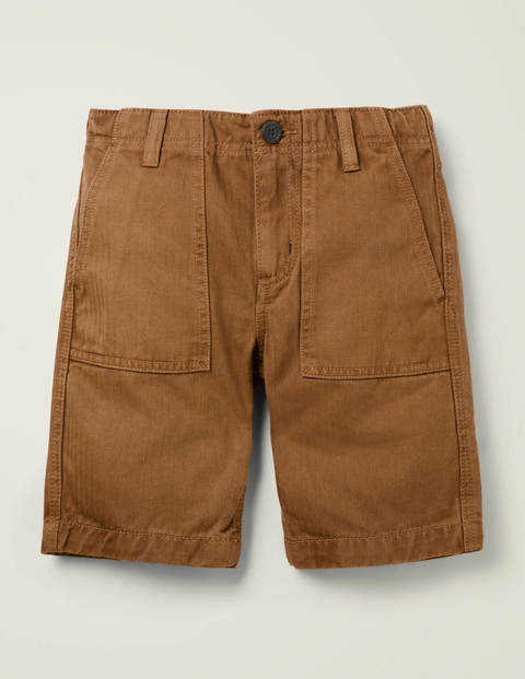 Gardener Shorts - Butterscotch Brown