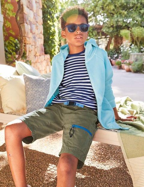 Pull-on Techno Shorts - Khaki Green