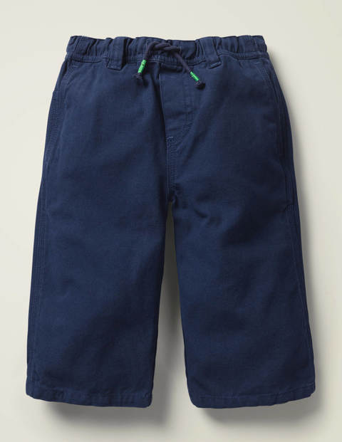 Pull-On Carpenter Shorts - Navy