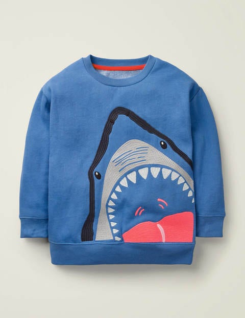 Animal Superstitch Sweatshirt