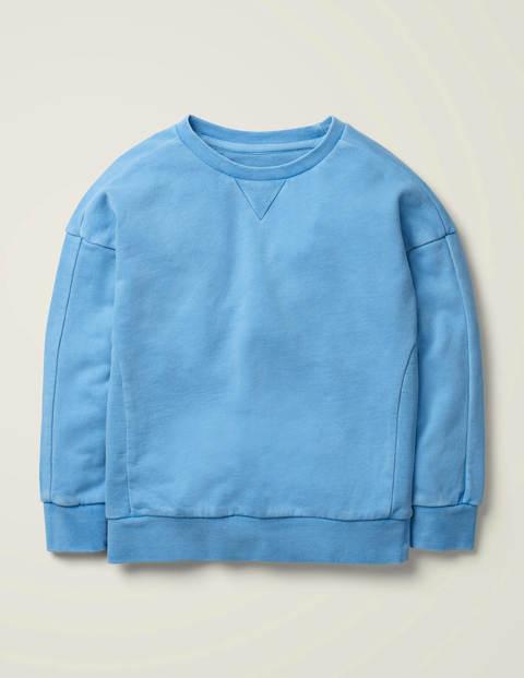 Stückgefärbtes Sweatshirt