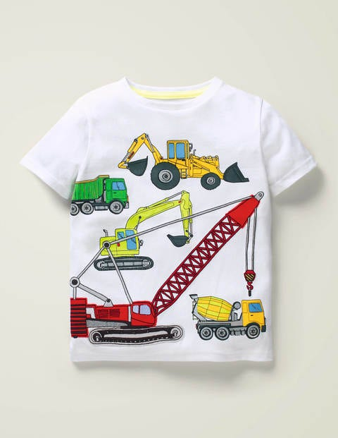Appliqué Multi Vehicle T-shirt