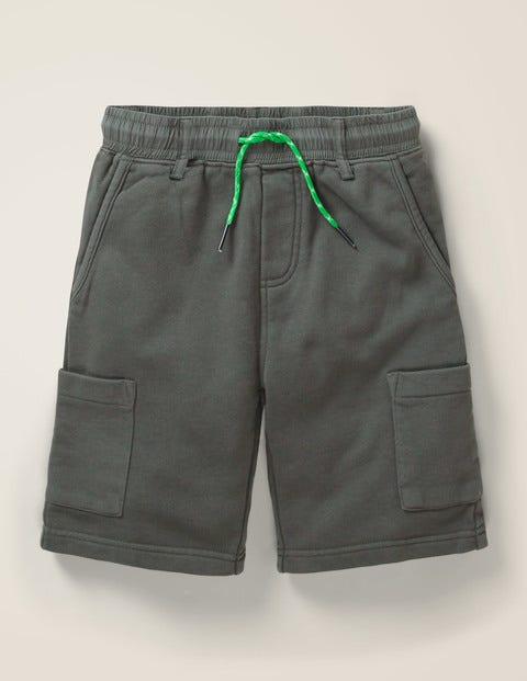 Jersey Cargo Shorts - Smoke Grey