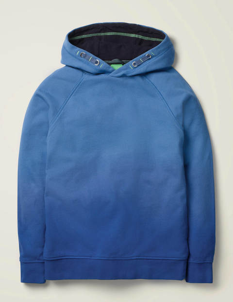 Dip-Dyed Hoodie - College Navy/Bold Blue
