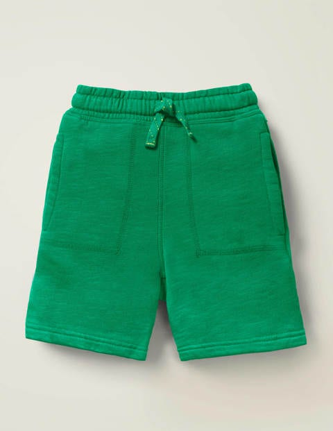 Garment-Dyed Sweatshorts - Alpine Green