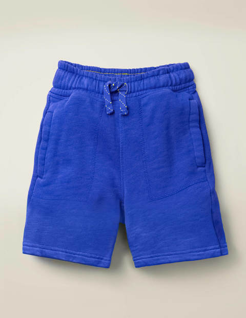 Garment-Dyed Sweatshorts - Bright Blue