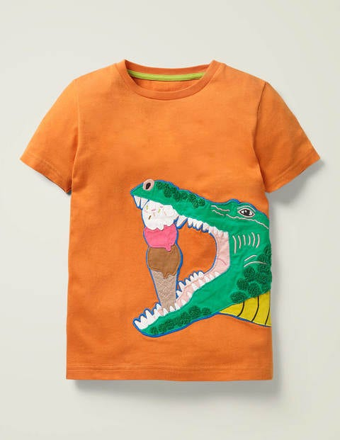 Hungry Animal Appliqué T-shirt