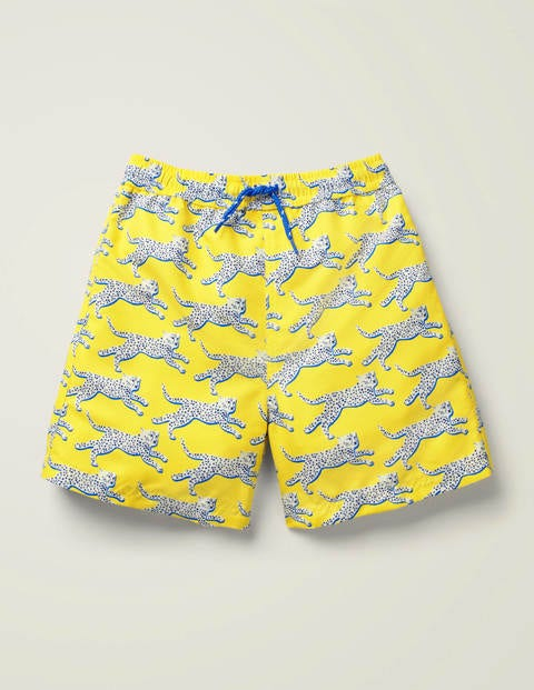 Cheetah Bathers - Daffodil Yellow Cheetahs