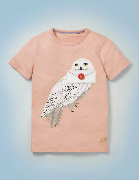 T-Shirt mit Hedwig-Applikation