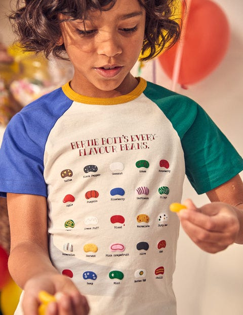 T-Shirt mit Bertie-Botts-Motiv
