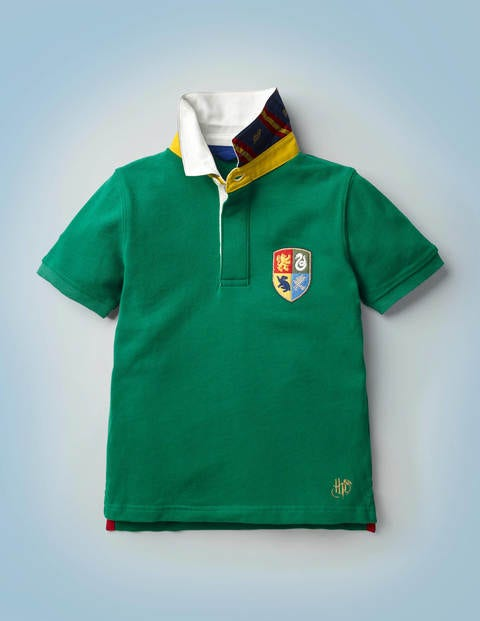 Hogwarts Heritage Rugby Shirt - Mountain Meadow Green