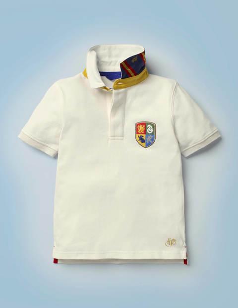 Hogwarts Heritage Rugby Shirt - Ivory
