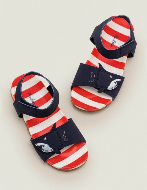 Water Resistant Aqua Sandals - College Navy