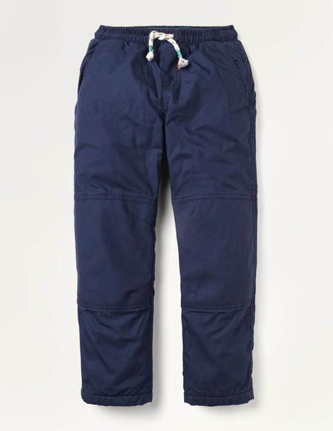 Cosy Fleece Lined Trousers - College Navy