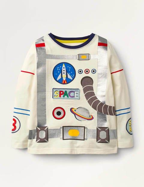 Astronautenoberteil mit Applikation