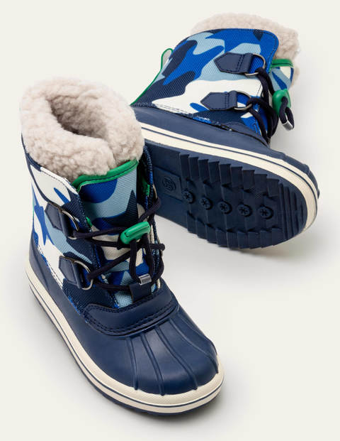 All-weather Camo Boots