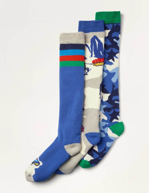 Ski Socks 3 Pack - Multi