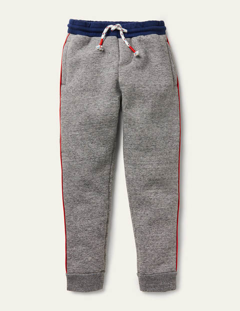 Cosy Shaggy-lined Joggers - Charcoal Grey Marl