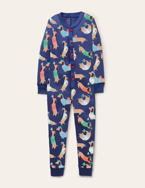 Bequemer einteiliger Schlafanzug