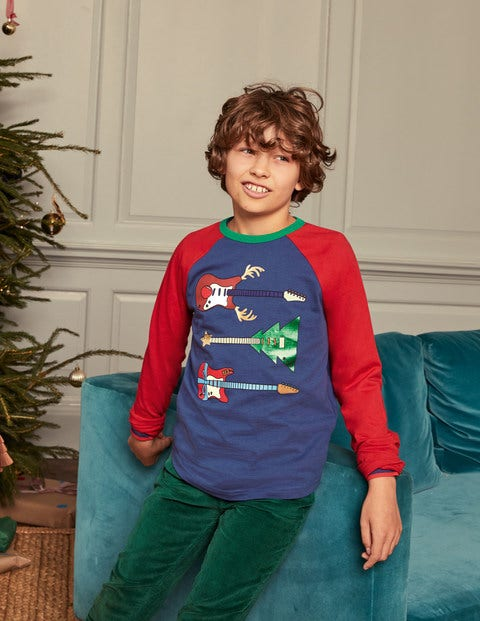 Christmas Raglan T-shirt