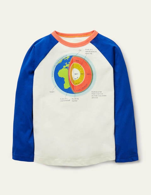 Glow-in-the-dark T-shirt - Ivory Earth's Core