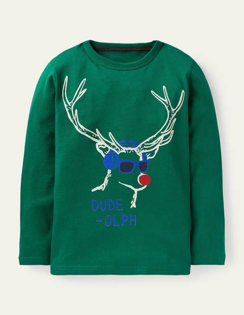 Sport Festive T-Shirt - Forest Green Dude-olph