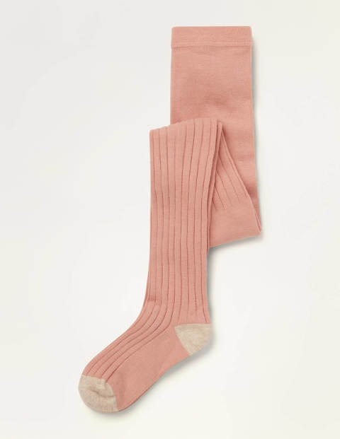 Ribbed Tights - Boto Pink
