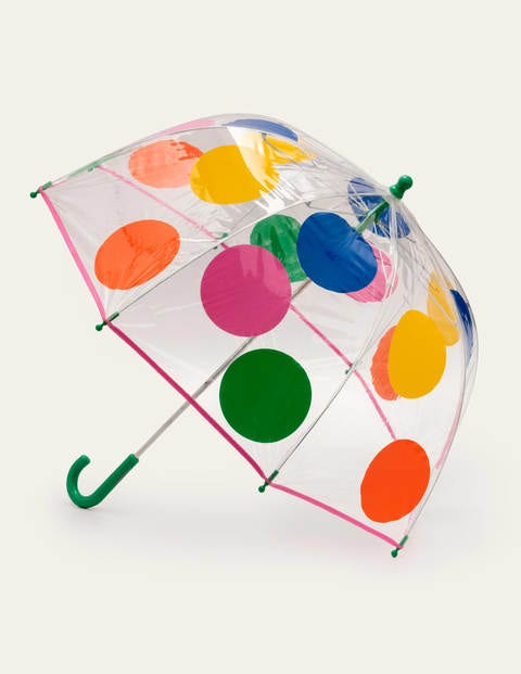 Regenschirm - Bunt, Getupft