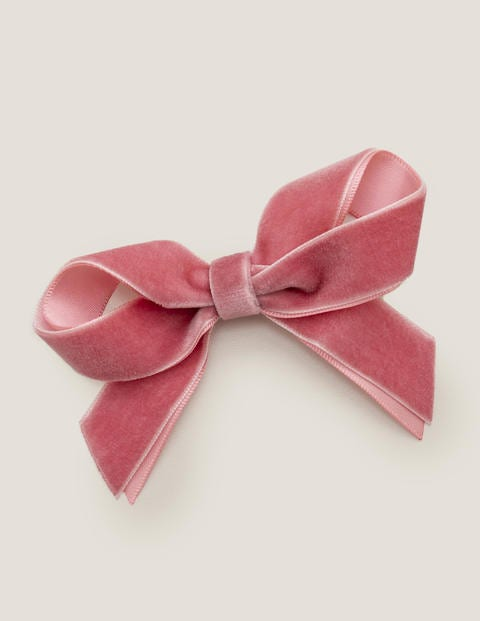 Large Bow Hair Clip - Boto Pink