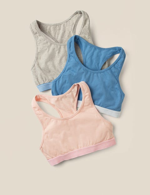 Sporty Crop Tops 3 Pack - Multi