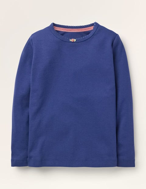 Long-sleeved Rosebud T-shirt