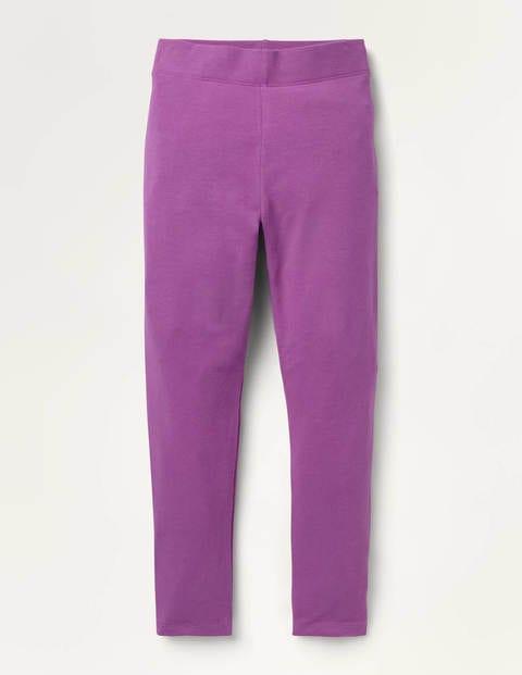 Plain Leggings - Light Clover Purple
