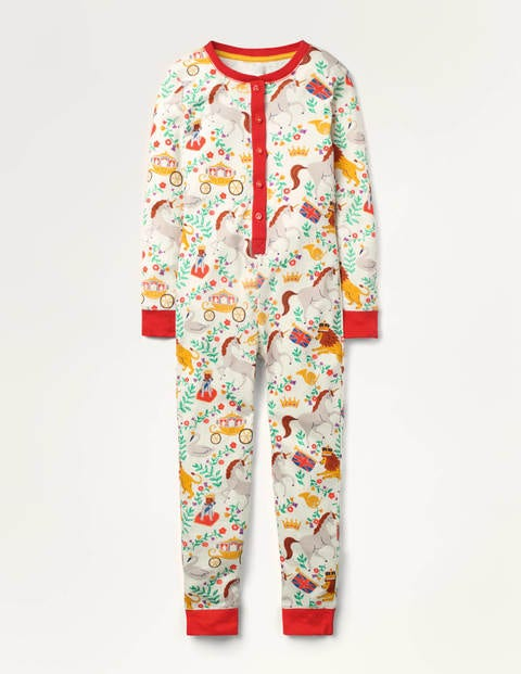 Cosy All-in-one Pyjamas - Multi Great British Toile