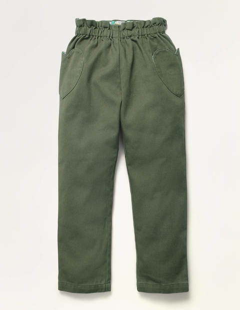 Pull-On Pants - Herb Green
