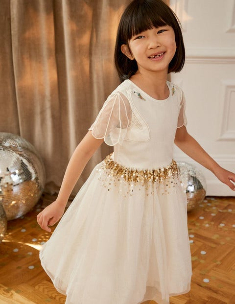 Swan Tulle Dress